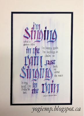 http://yogiemp.com/Calligraphy/Artwork/Stampede15_Brush&PointedPen_SingingInTheRain.html