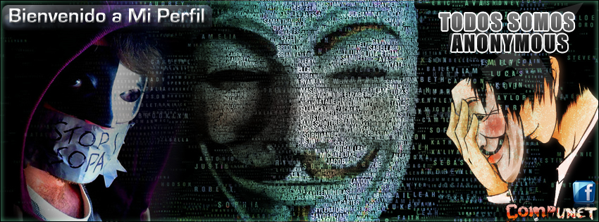 Anonymous Facebook Banner Banner Portada Timelin...