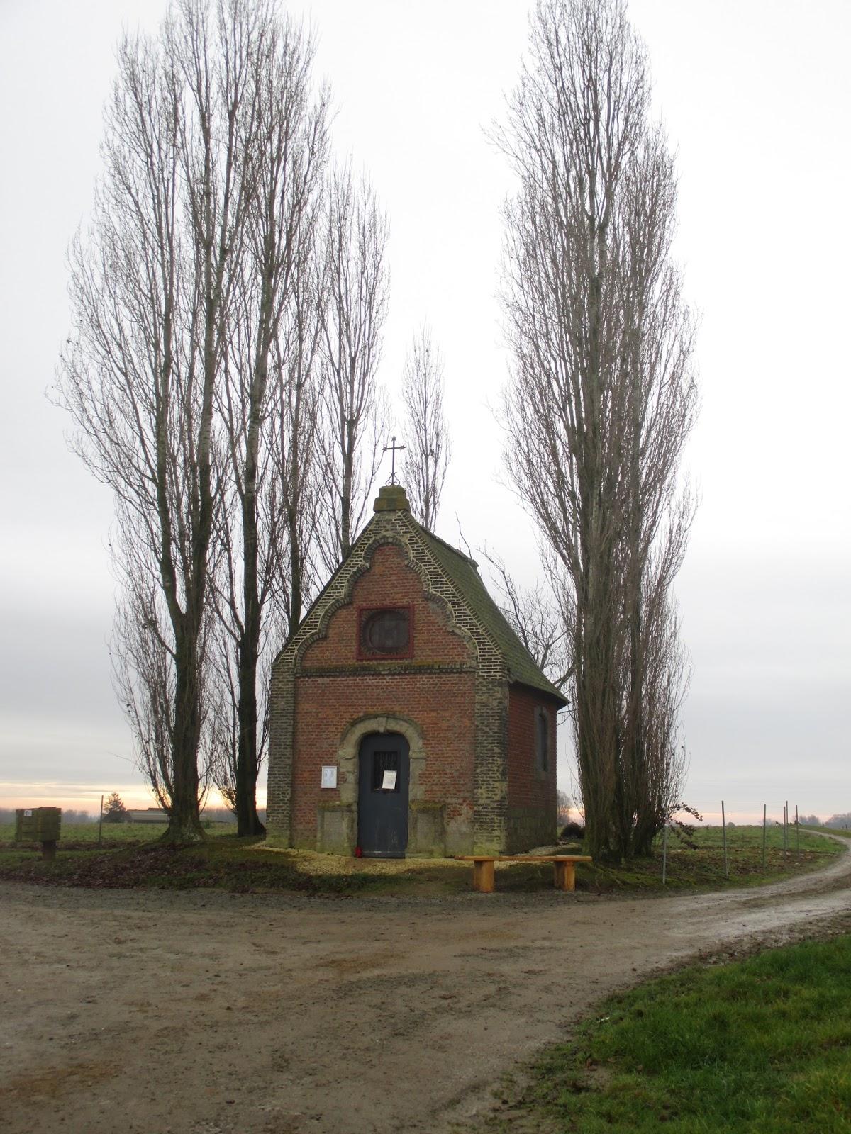 La chapelle Notre-Dame des Fièvres (1714)-Wodecq