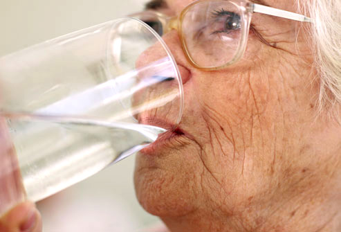 Dehydration While Drinking Lots Of Water