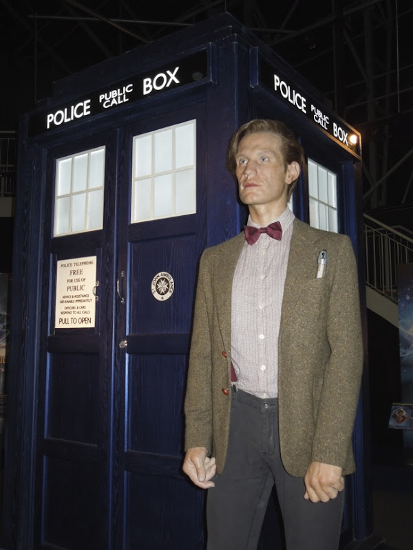 11th Doctor Who Matt Smith TARDIS