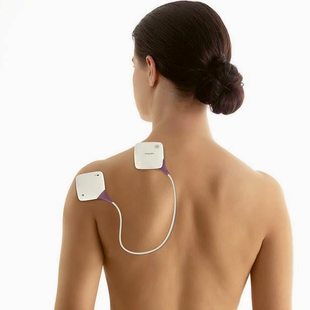 O dispositivos da Philips PulseRelief e BlueTouch vem com um aplicativos para dispositivos móveis