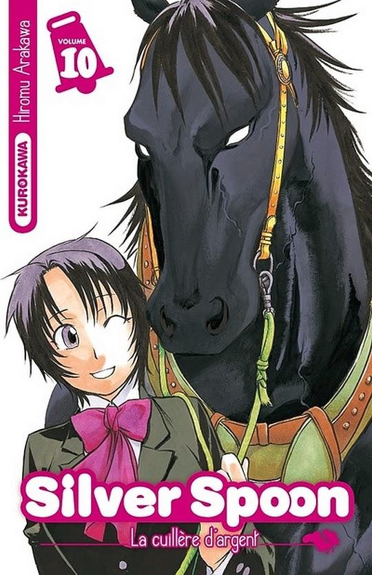 Silver Spoon, Hiromu Arakawa, Weekly Shonen Sunday, Manga, Actu Manga,