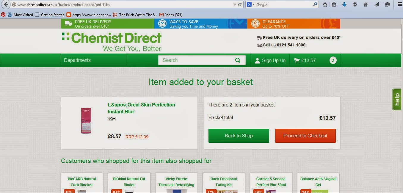 Chemist Direct Review L'Oreal Skin Perfector image