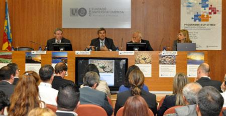 La Comunitat busca oportunidades de negocio en las regiones del Mediterráneo