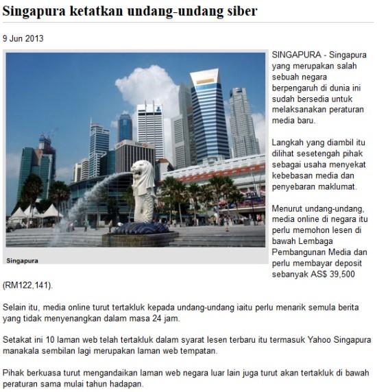 singapura-kebebasan-media