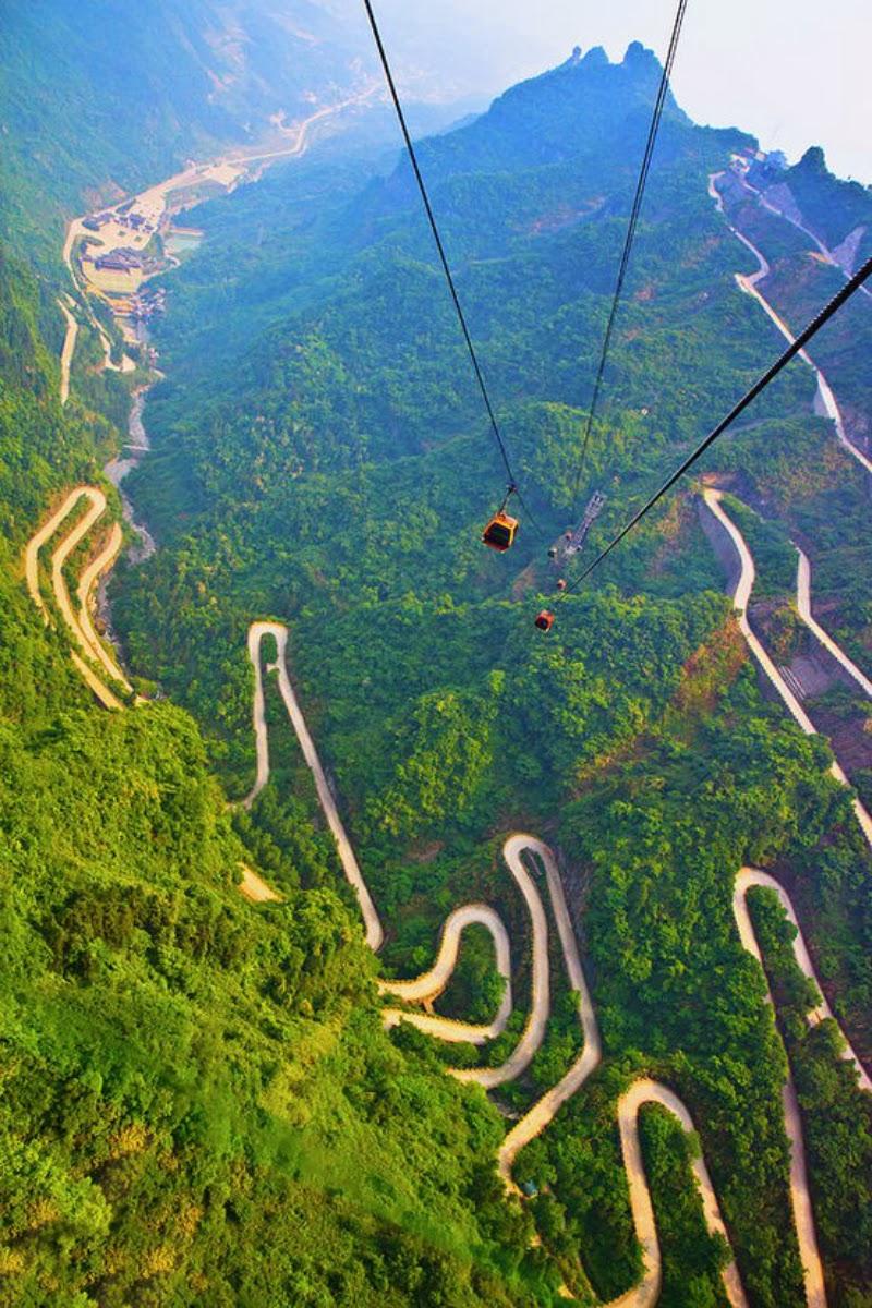 Mount Tianmen, Hunan Province, China