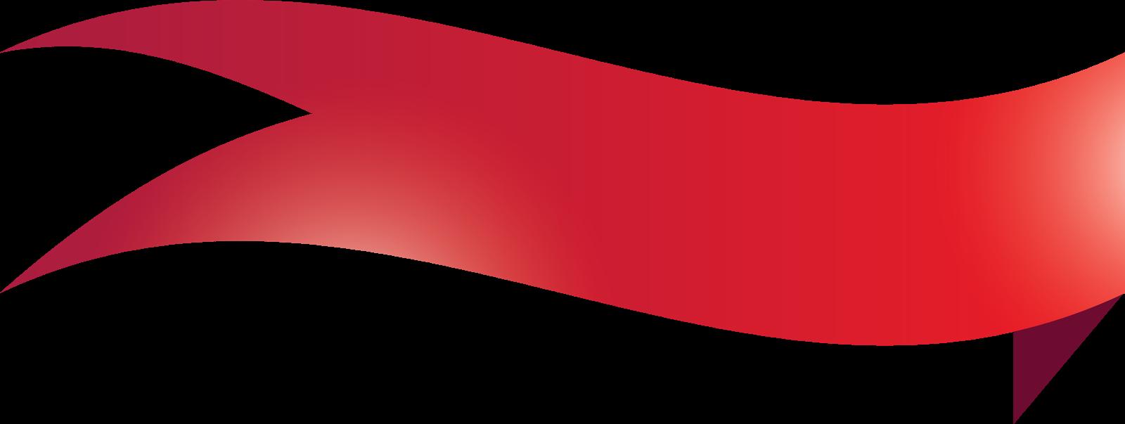 Transparent folded banner
