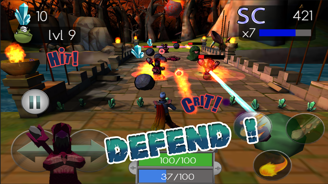 Mana Defense v1.0.2 [Unlimited Gold/Gems] APK+DATA