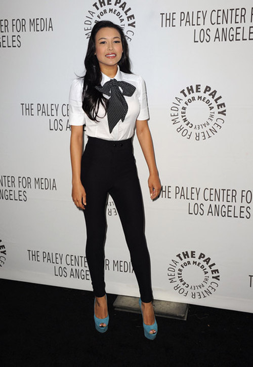 Naya Rivera Fashion Style Naya Rivera Celebrity Has A Beautiful Face