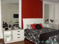 Preto , branco e vermelho