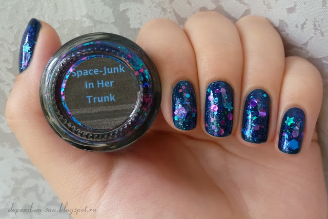 WingDust Space-junk in her trunk & Kiko 838