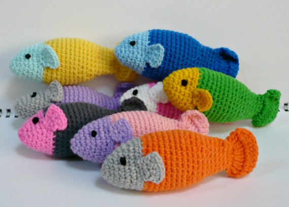 Free Crochet Fish Cat Toy Pattern