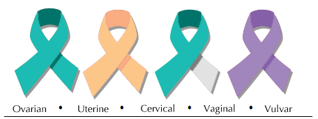 cancer awareness month it is one of the leading causes of cancer    Vaginal Cancer Ribbon
