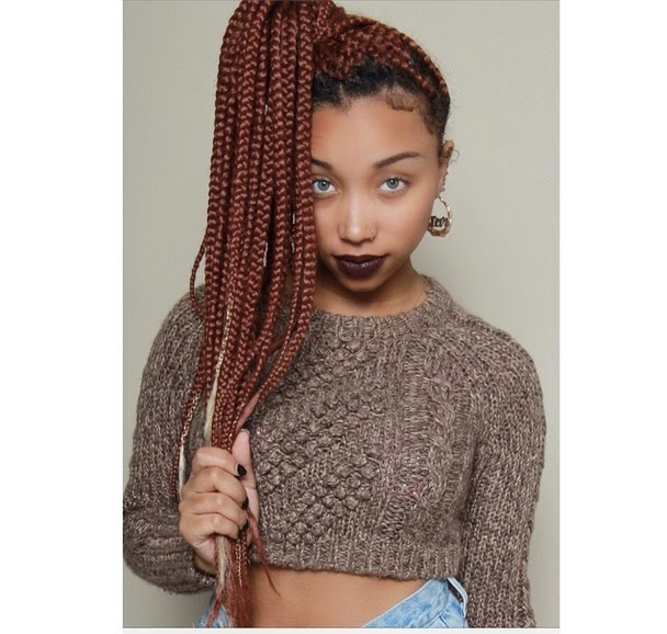 Zonnique Pullins Rocks Jumbo Braids Did Tinys Daughter Change Her Eye Color Too