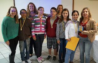 Alunos e escolas receberam suas premiações no 5 Criacine Teresópolis