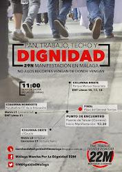 """Marchas de la Dignidad """"Pan, Trabajo y Techo"""""""