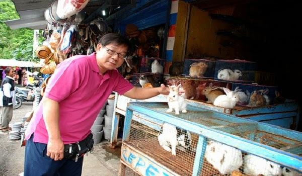 Stan Jual Kelinci di Songgoriti