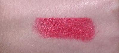Barry M Ultra Moisturising Lipstick Review - 161 Flamingo peach Swatch