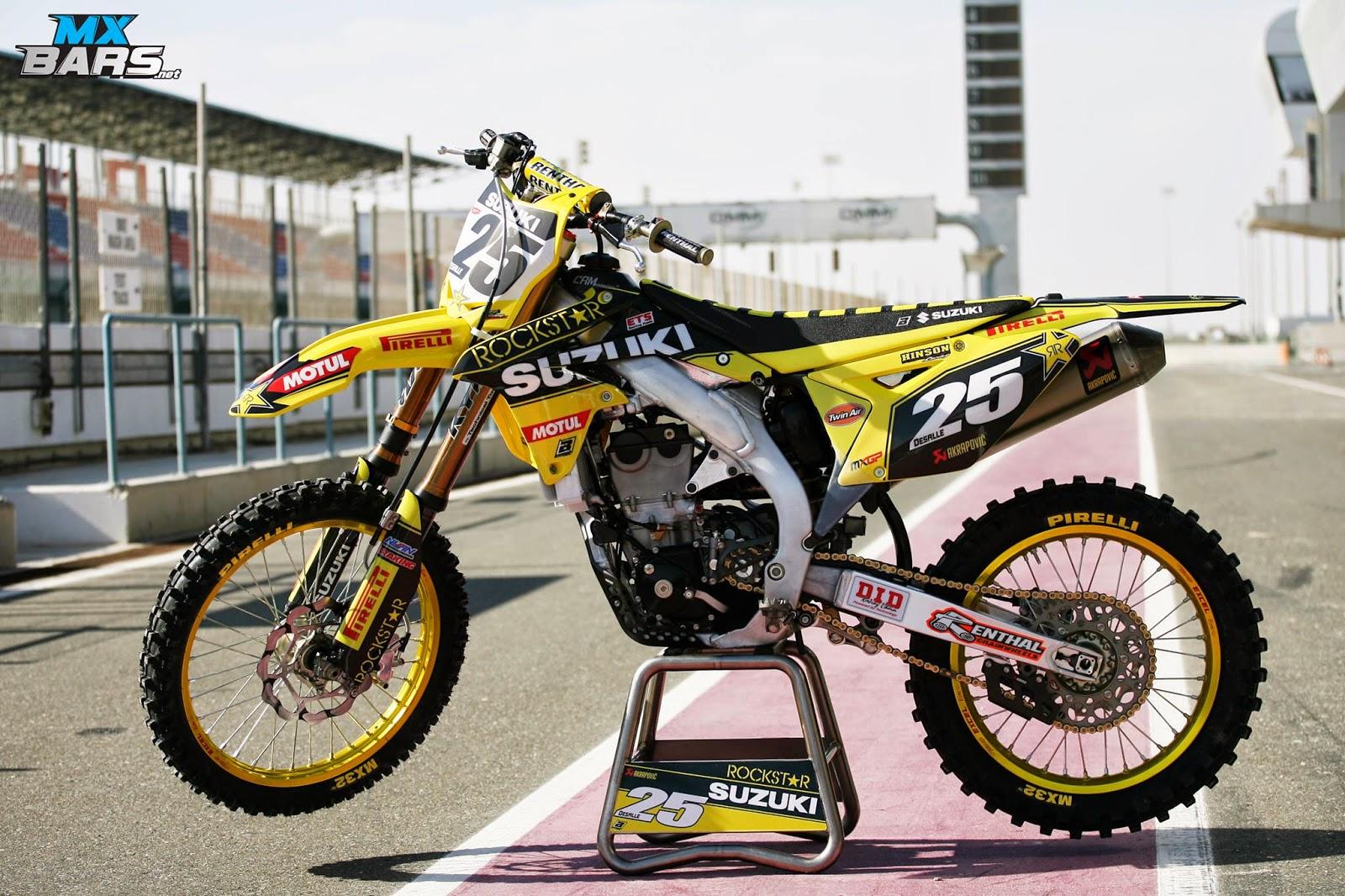 Suzuki Rm  Rockstar Graphics