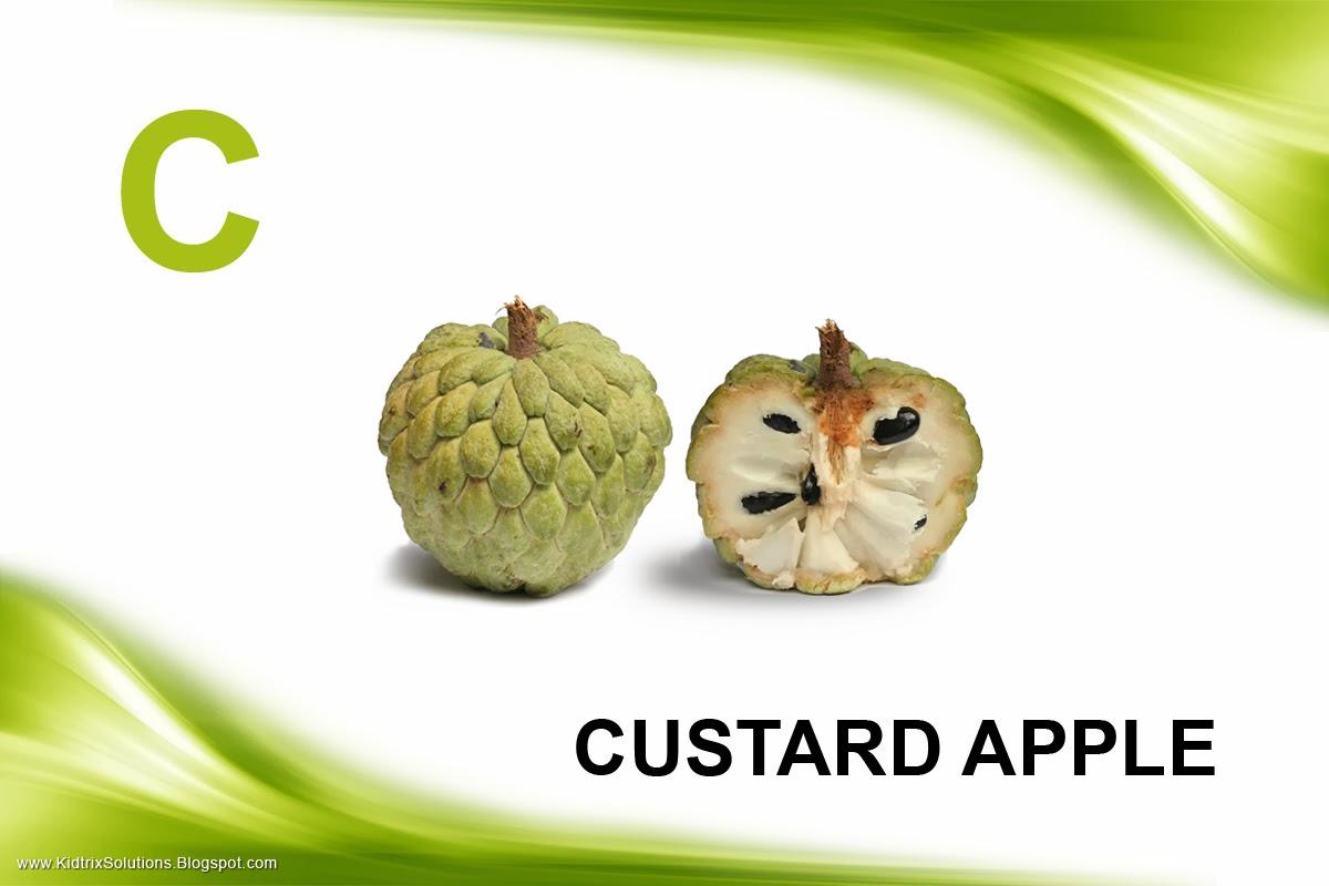 how to eat custard apple