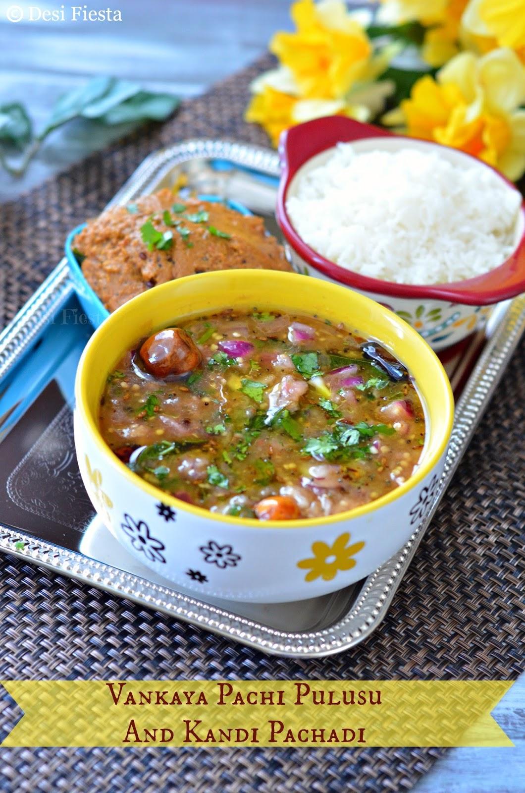 pulusu, stew, pachadi