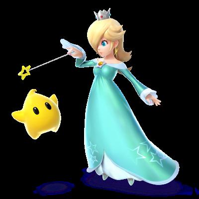 Princess Rosalina and Luma star