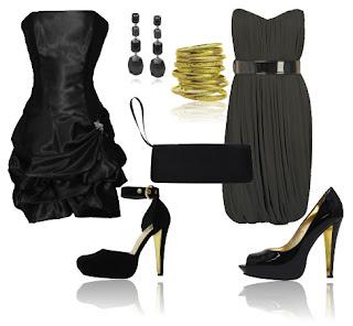 imagens de vestidos pretos