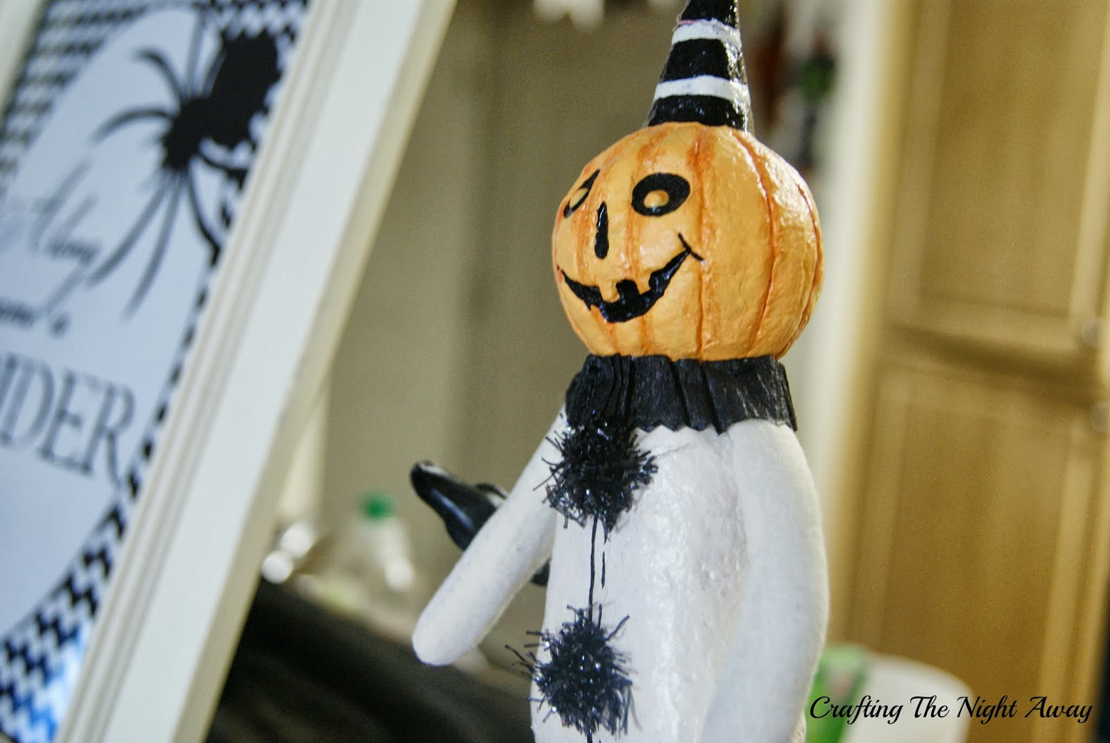 Crafting The Night Away: My Home all decked out for Halloween