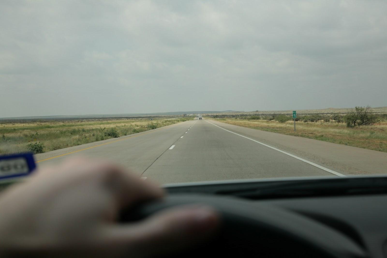 New Mexico Texas border