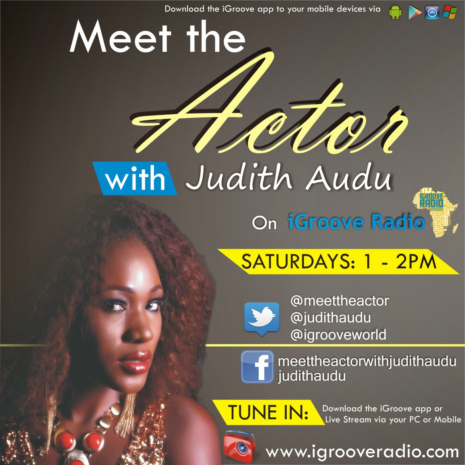 MEET the ACTOR with Judith Audu
