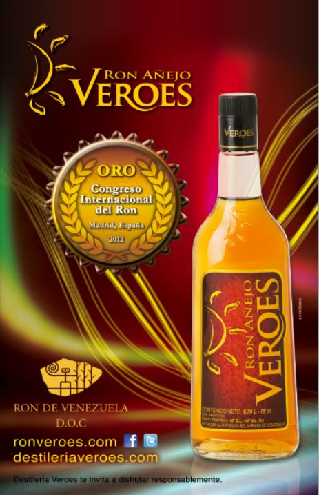 Ron Veroes Venezuela Ron Veroes Distinguido Con