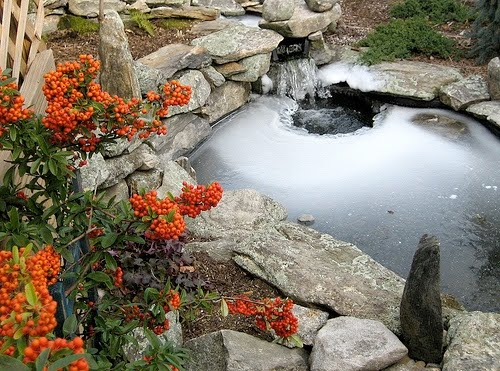 Pond liner blog why pond pumps and pond heaters cannot be for Garden pond heater