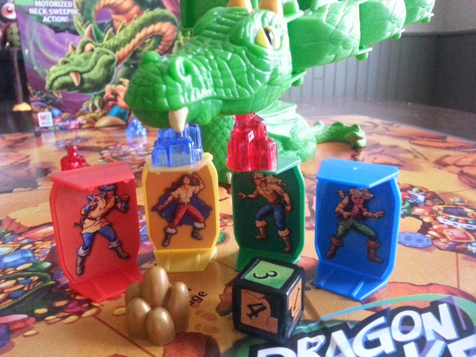 dragon strike board game instructions