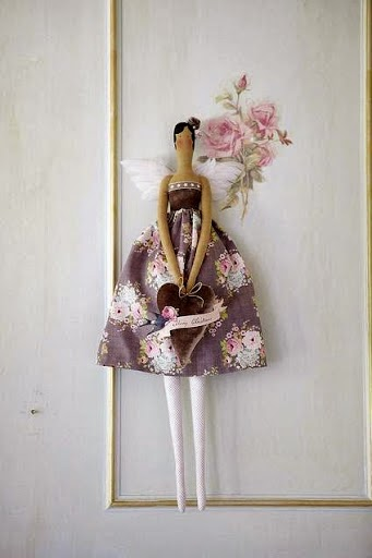 Moldes boneca tilda princesa bailarina
