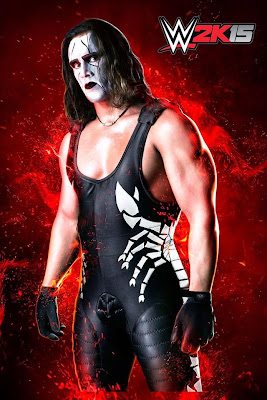 "Images » ""The Icon"" Sting In WWE 2K15 Video Game (Official Artwork)"