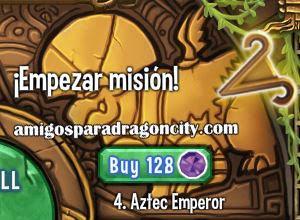 imagen de la cuarta parte de la isla azteca de dragon city
