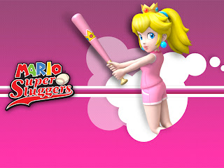 Mario Superstar Baseball princess peach wallpaper