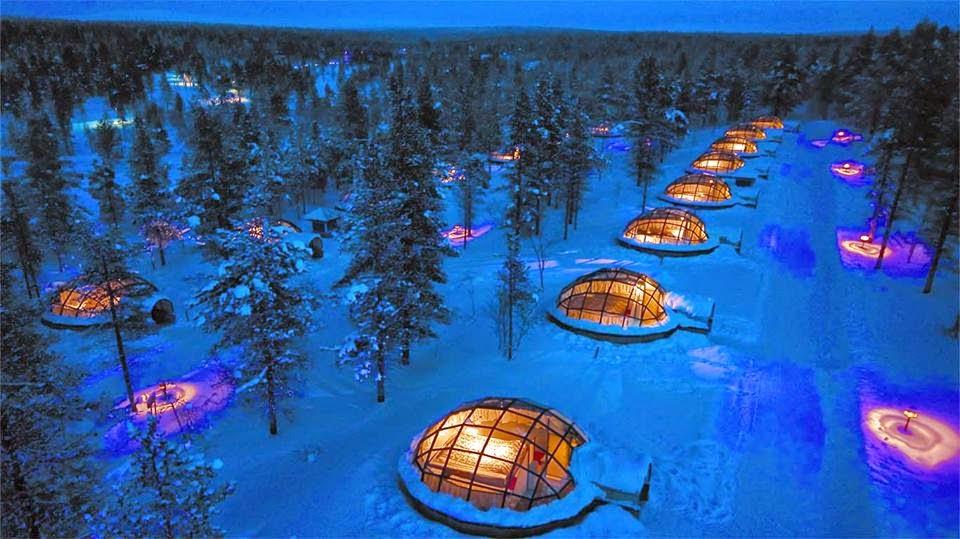 Kakslauttanen Igloo Village, Finland