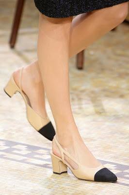sapato chanel desfile