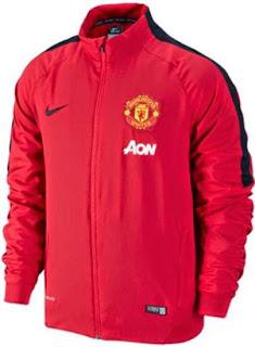 jersey grade ori, jual jaket bola mu merah, jaket manchester united Chevrolet, ready stock, jual baju bola online