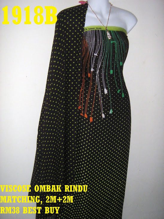 VOM 1918B: VISCOSE OMBAK RINDU MATCHING, 2M+2M