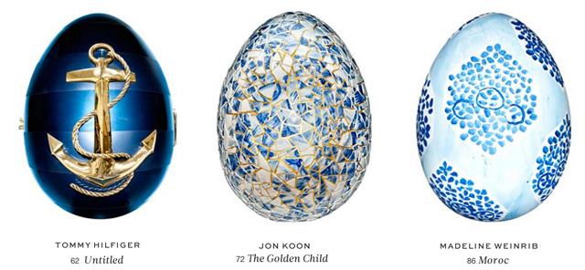 Faberge Big Egg Hunt New York - Eggs 62  72  86