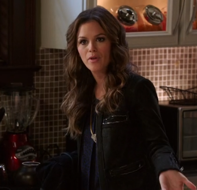 "Zoe's Veda Cropped Leather Jacket Hart of Dixie Season 2, Episode 12: ""Islands In the Stream"""