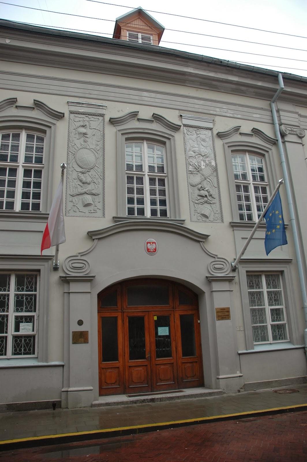 polska ambasada w Wilnie