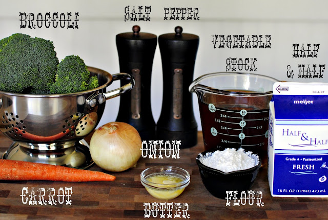 Broccoli and Cheddar Soup l SimplyScratch.com
