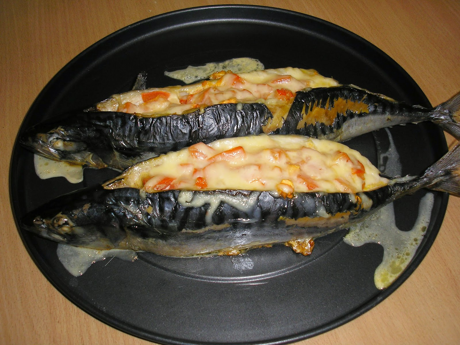 Скумбрия с сыром в духовке рецепт пошагово