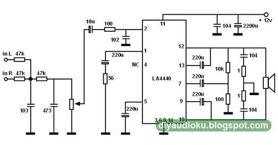 diy audio elektronika  rangkaian subwoofer menggunakan