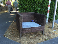 emptry wicker chair