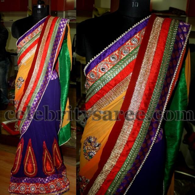 Half Saree in Pretty Colors